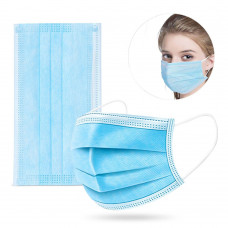 DISPOSABLE FACE MASK 3 LAYER FFP2 FILTER x50