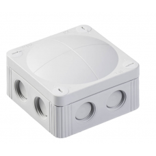 WISKA COMBI 85X85 IP66 GREY JUNCTION BOX